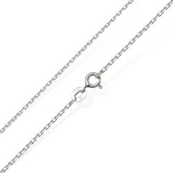 Efektowny łańcuszek srebrny 50 cm 0,98 g