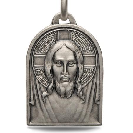 Medalik srebrny Pana Jezusa. 5,9g