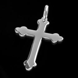 Krzyżyk srebrny. Pięknie błyszczy. krzyżyk ze srebra. Gold Urbanowicz