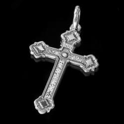 Srebrny krzyżyk. 1.7 g Krzyżyk ze srebra oksydowanego. Gold Urbanowicz