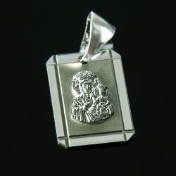Medalik ze srebra, Matka Boska Częstochowska. 3 g