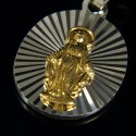 Cudowny medalik. 2,20 g Pozłacany. Gold Urbanowicz
