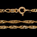 Elegancki złoty łańcuszek 50 cm 3,6 g Gold Urbanowicz,