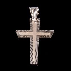 Krzyżyk srebrny. Lśniący i elegancki. Gold Urbanowicz 2,2 g
