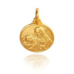 Pierwsza Komunia Święta  2,3 g   złoty medalik Gold Urbanowicz