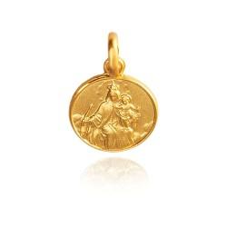 Matka Boża z Góry Karmel 1,6 g  Złoty medalik Gold Urbanowicz