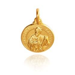 Święty Paweł. 2,3 g Złoty medalik, 14K. Gold Urbanowicz