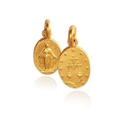 Cudowny Medalik. Szkaplerz. 1,5 g Złoty medalik Gold Urbanowicz
