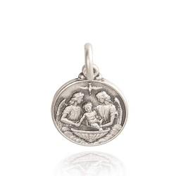 Srebrny medalik na Chrzest Święty. 2,0 g Medalik ze srebra oksydowanego, próba 925. Gold Urbanowicz