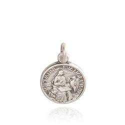 Święty Jan Ewangelista. medalik srebrny. Medalik ze srebra. Medalik Jana Ewangelisty 1.5 g Gold Urbanowicz