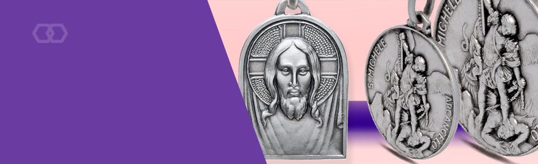 Medaliki ze srebra