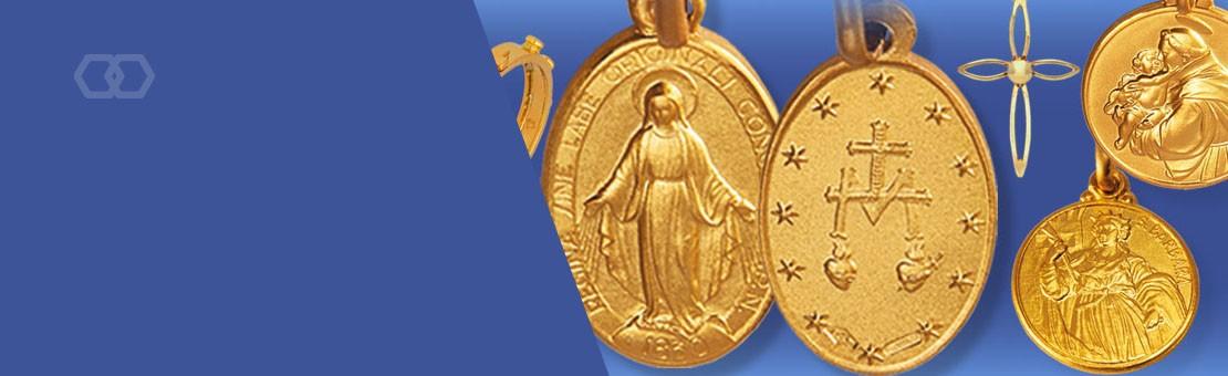 Złote medaliki